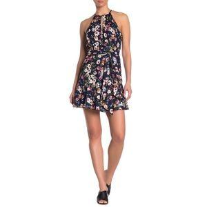 PARKER Sleeveless Cosmic Daisy High Neck Dress NWT
